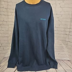 Mens Big And Tall Columbia Blue Embroidered Swears